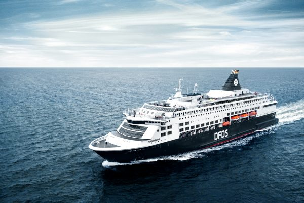 DFDS Cruise Ship according to new CVI