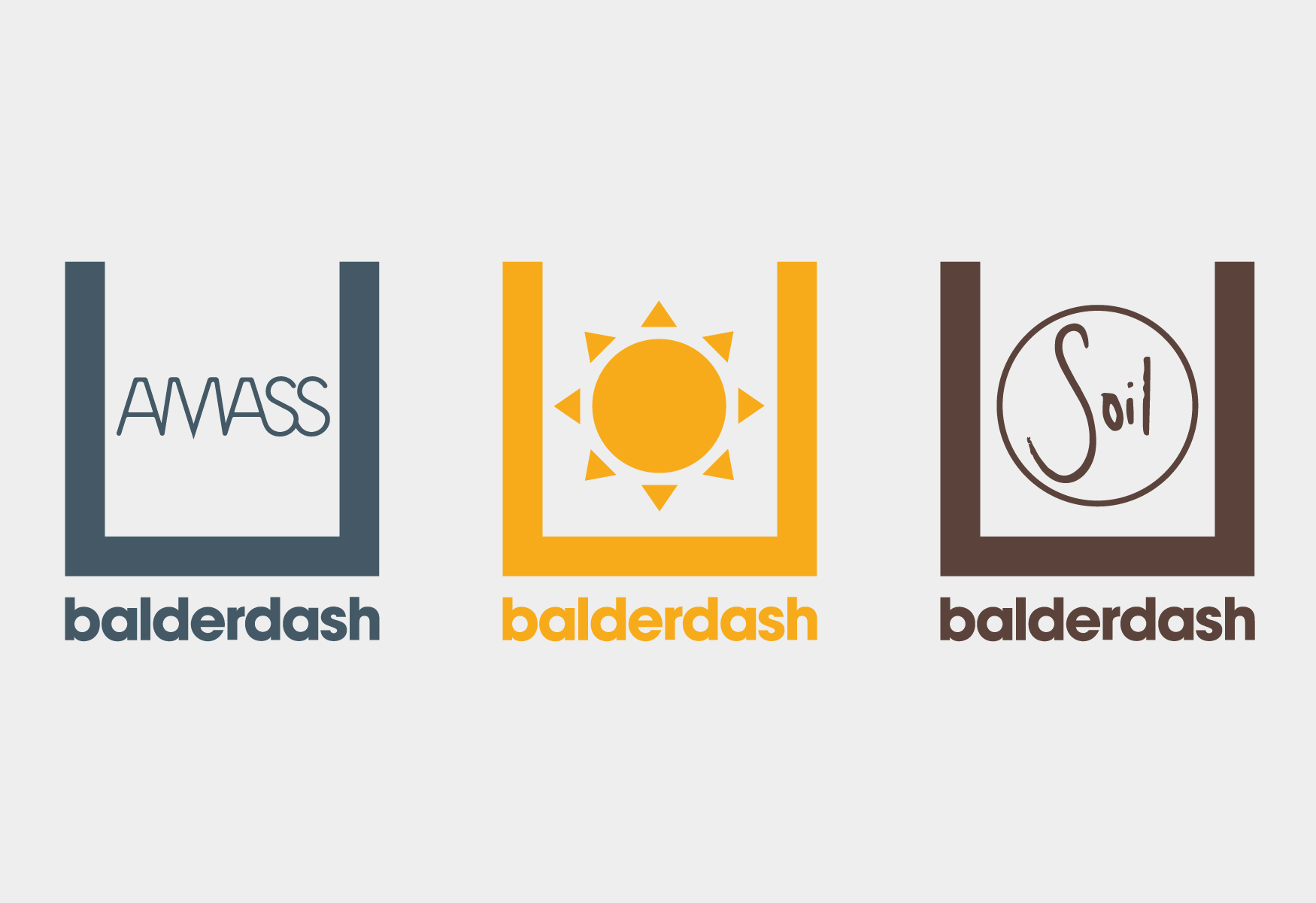 Balderdash – Cocktail Bar Collab Logos. Visual Identity by HEAVY™ – www.heavy.tm